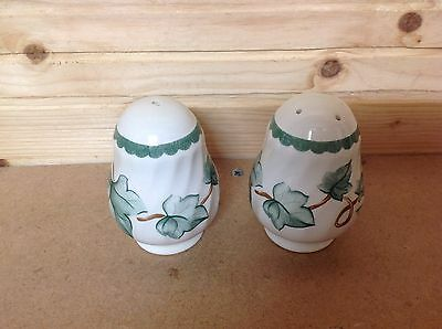 BHS Country Vine Salt And Pepper Set.