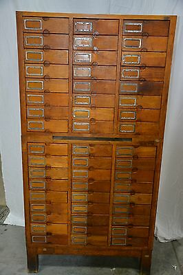 Antique 51-Drawer Oak Cabinet /u.s. Patent Office* Local Pick Up Nky 41018 (#2)