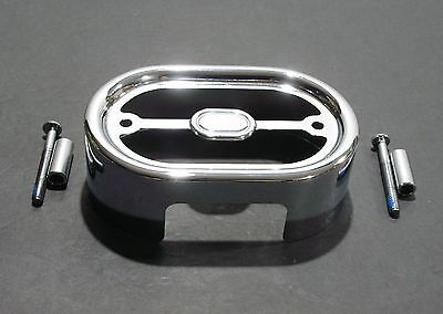 Chrome Voltage Regulator Cover for 2001-2016 Softail FXST FLST Fatboy Heritage