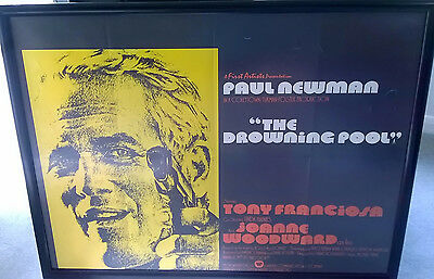 The Drowning Pool original UK quad poster