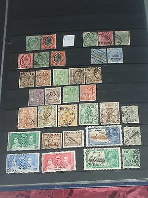 Queen Victoria to Geo V1 Malta stamps mint & used, some overprints