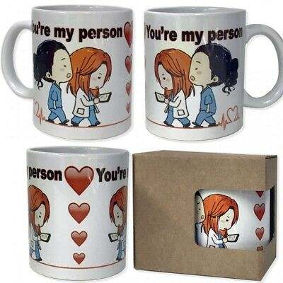 Tazza in ceramica You're my person grey's anatomy you are - instantstore