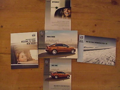 Volvo S60 Owners Handbooks And Manual Printed 2012