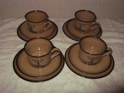 denby savoy tea cups, saucers and plates (collection only)