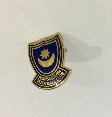 "PORTSMOUTH Football Club Badge FC SUPPORTERS POMPEY Pin "" SMALL"""