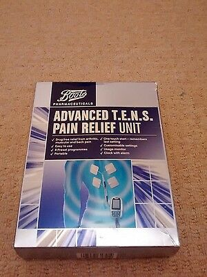 Boots advanced tens pain relief machine
