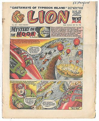 Lion 223 (26th May 1956, high grade copy) Captain Condor by Frank Pepper