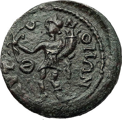 TERMESSOS MAJOR in PISIDIA 2-3CenAD Zeus Genius Rare Ancient Greek Coin i59237