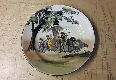 """Royal Doulton  """"The Gipsies""""  Old English Scenes""""  Plate"""