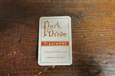Park Drive 1950`s Full Unopened Pack Of Cards