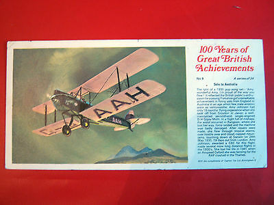Rare Ty-Phoo 100 Years Of Great  British  Achievements - Large Card No 9