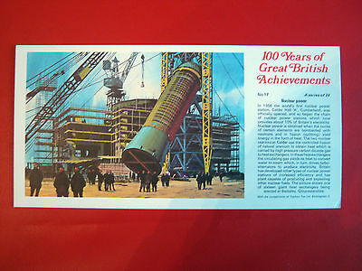 Rare Ty-Phoo 100 Years Of Great  British  Achievements - Large Card No 17