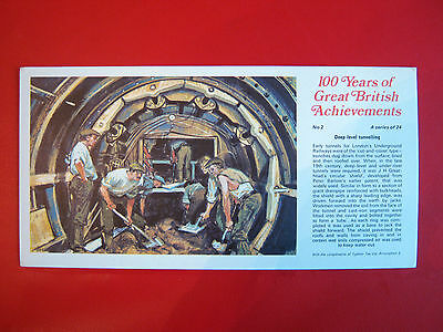 Rare Ty-Phoo 100 Years Of Great  British  Achievements -  Large Card No 2