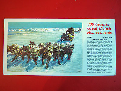 Rare Ty-Phoo 100 Years Of Great  British  Achievements - Large Card No 24