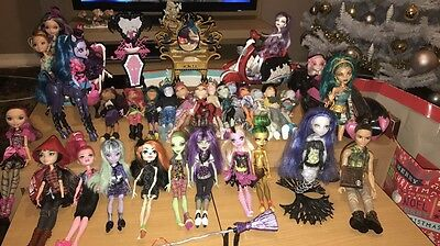 Monster High Doll And Accessories Collection