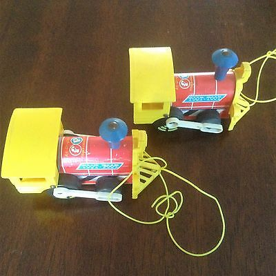 Vintage Fisher Price Toot-Toot engine  # 643