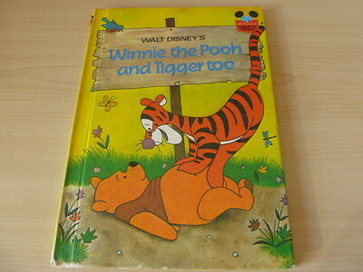 Vintage Disney's Wonderful World of Reading - Winnie the Pooh and Tigger too
