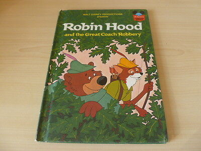 Vintage Disney's Wonderful World of Reading-Robin Hood & the Great Coach Robbery