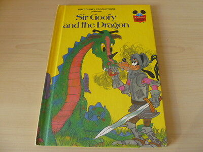 Vintage Disney's Wonderful World of Reading - Sir Goofy and the Dragon