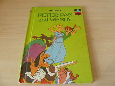Vintage Disney's Wonderful World of Reading - Peter Pan and Wendy