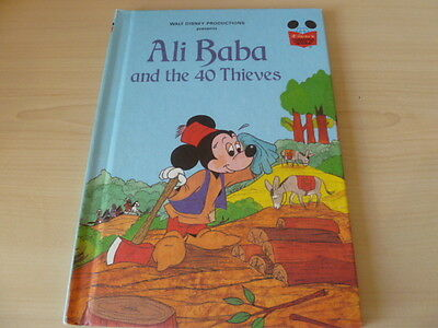 Vintage Disney's Wonderful World of Reading - Ali Baba and the 40 Thieves