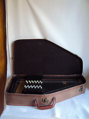 Antique Autoharp By Oscar Schmidt Inc. In Box