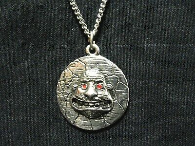 Small Anthrax Official Vintage 1991 Pewter Necklace Us Import  Not Shirt Patch