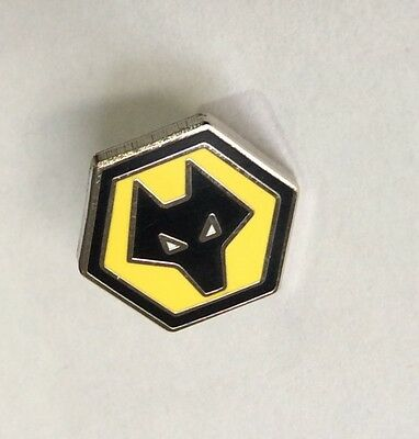"WOLVERHAMPTON WANDERERS Football Club Badge FC ""VERY SMALL"" WOLVES PIN 2"