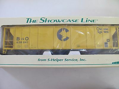 S-Helper Service 3 Bay Hopper Car Chessie #00274 MIB