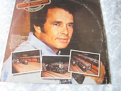 MERLE HAGGARD  MY LOVE AFFAIR WITH TRAINS E-ST 11544 played before listing