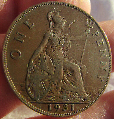 1931 George V Penny.