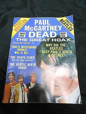 Paul McCartney Dead - The Great Hoax - Collector's Edition 1969