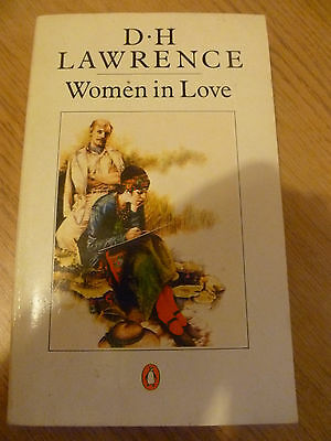 D.H Lawrence Women in Love Paperback book VGC