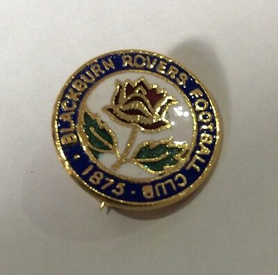 OLD BLACKBURN ROVERS Football Club Badge FC VINTAGE ENAMEL SUPPORTERS PIN