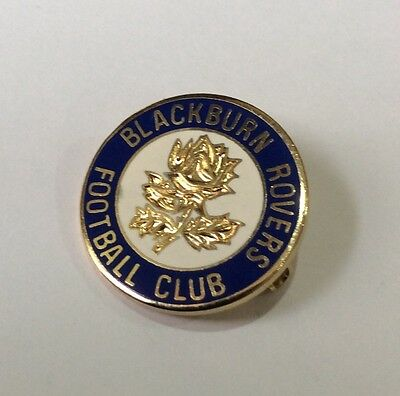 OLD BLACKBURN ROVERS Football Club Badge FC ENAMEL (PLAIN CENTRE) SUPPORTER PIN