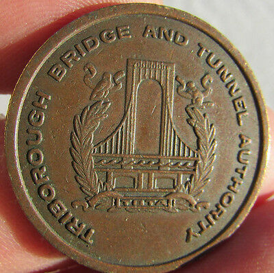 Triborough Bridge and Tunnel Authority Token/ Medal.