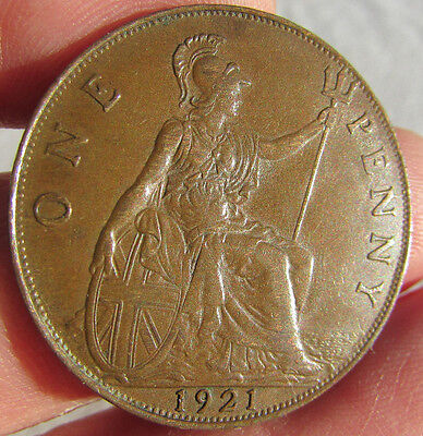 1921 George V Penny.