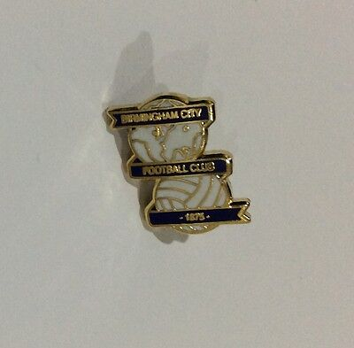 "BIRMINGHAM CITY Football Club Badge FC "" Size 3 - 13 mms"" Enamel SUPPORTERS Pin"