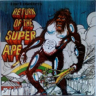 the upsetters - return of the super ape lp brand new unopened VP records.
