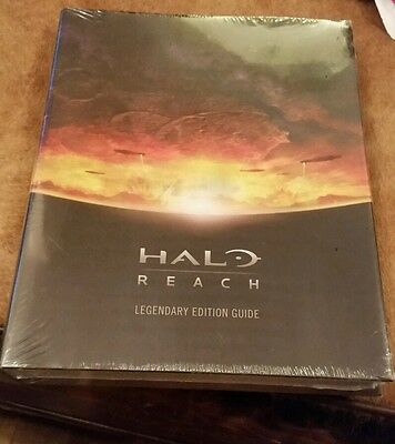 Halo reach legendary edition guide brand new sealed