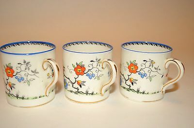Paragon 3 small coffee cups 'Blossom'