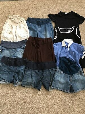 Motherhood Maternity & More Spring Summer Maternity Lot Size Medium - 10 Items