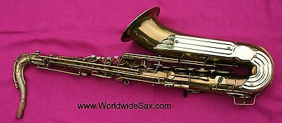 "vintage 1955 Keilwerth ""The New King"" TENOR Sax #25k - WORLDWIDESAX"