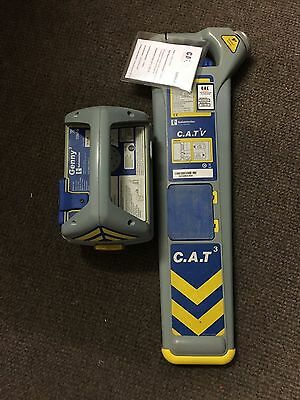 Radiodetection CAT 3v Cable Locator & Genny Avoidance Tool C.A.T Scanner