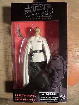Star Wars Rogue One Black Series Director Krennic 6 in. Action Figure