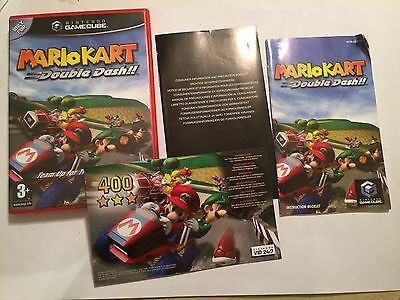 Box & Instructions Only Nintendo Gamecube Game Cube Super Mario Kart Double Dash