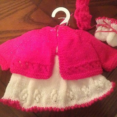 Hand Knit Dolls Outfit