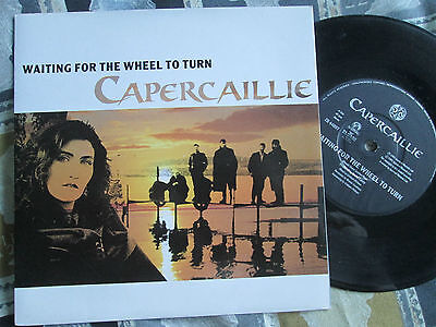 "Capercaillie Waiting For The Wheel To Turn Survival Records ZB 44897 7"" Single"