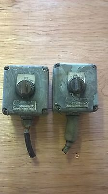 Vintage  Switches