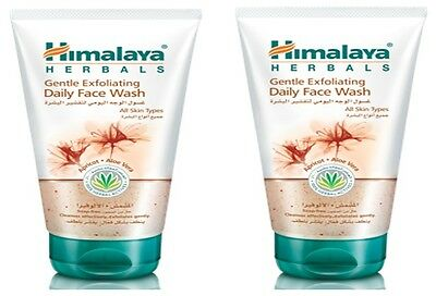 Himalaya Herbal, Gentle Exfoliating Daily Face Wash,Apricot & Aloe Vera -2X150ml